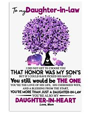 TO MY DAUGHTER-IN-LAW 11x17 Poster thumbnail