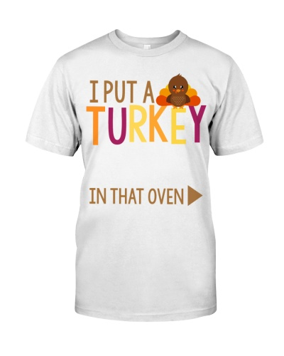 I PUT A TURKEY IN THIS OVEN