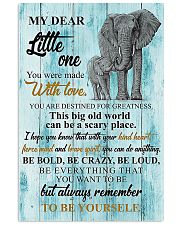 LITTLE ONE 24x36 Poster front