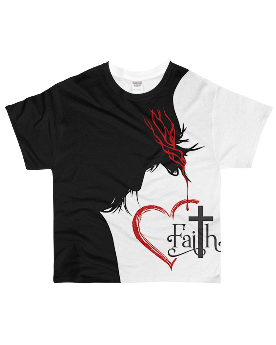 GOD IN MY HEART All-over T-Shirt
