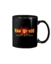 MAN OF GOD POLICE STYLE Mug thumbnail