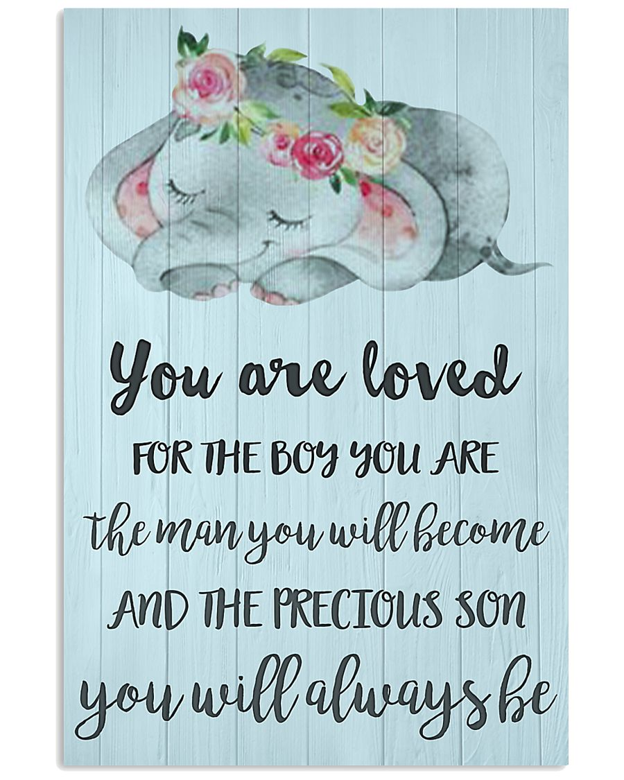 YOU ARE LOVED FOR THE BOY 24x36 Poster
