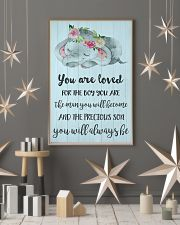 YOU ARE LOVED FOR THE BOY 24x36 Poster lifestyle-holiday-poster-1