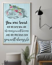 YOU ARE LOVED FOR THE BOY 24x36 Poster lifestyle-poster-1