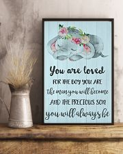 YOU ARE LOVED FOR THE BOY 24x36 Poster lifestyle-poster-3