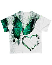 Heart butterfly All-over T-Shirt back