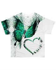 Heart butterfly All-over T-Shirt front