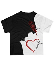GOD IN MY HEART All-over T-Shirt back