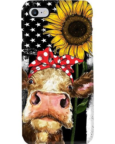 American Flag Sunflower Cattle