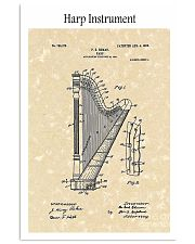 Harp Ekman Musical Instrument 1905 16x24 Poster front