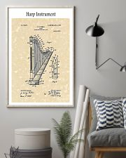 Harp Ekman Musical Instrument 1905 16x24 Poster lifestyle-poster-1