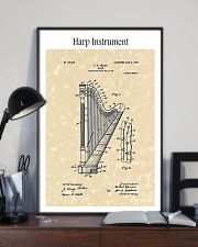 Harp Ekman Musical Instrument 1905 16x24 Poster lifestyle-poster-2