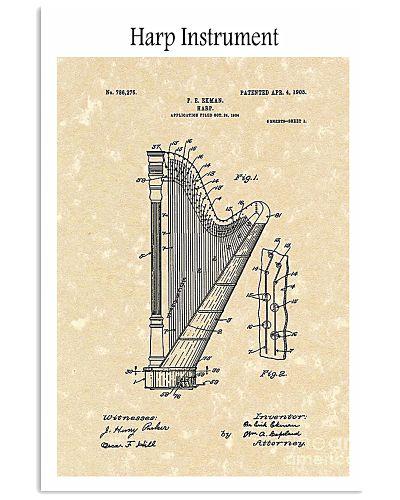 Harp Ekman Musical Instrument 1905