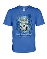 Dead Pancreas society V-Neck T-Shirt thumbnail