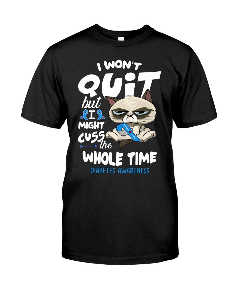 Diabetes Cuss Classic T-Shirt