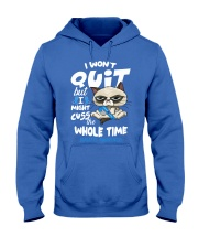 Diabetes Cuss Hooded Sweatshirt thumbnail