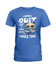 Diabetes Cuss Ladies T-Shirt thumbnail
