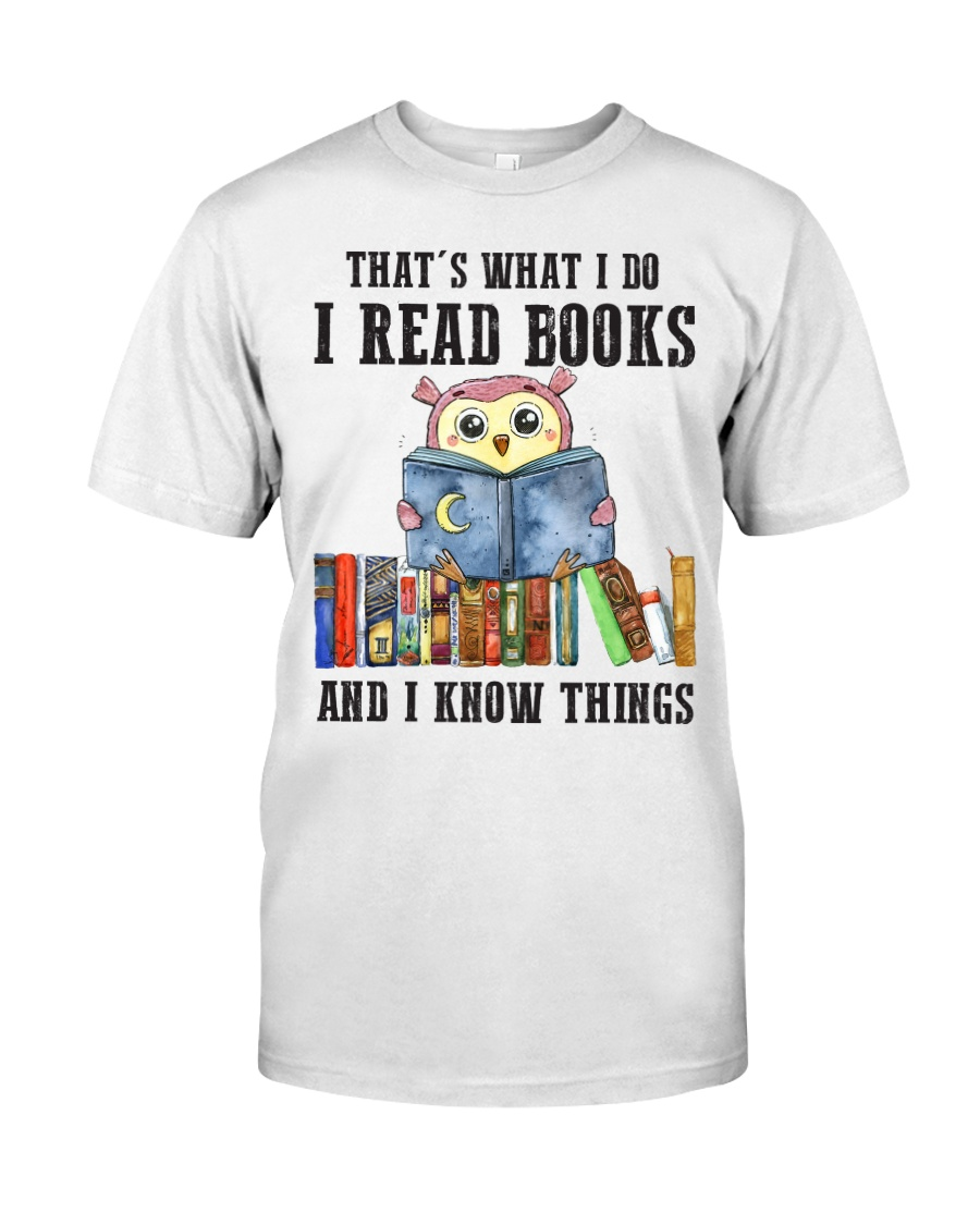 Read Books Know Things Classic T-Shirt