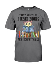 Read Books Know Things Premium Fit Mens Tee thumbnail