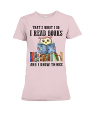 Read Books Know Things Premium Fit Ladies Tee thumbnail