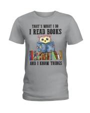 Read Books Know Things Ladies T-Shirt thumbnail