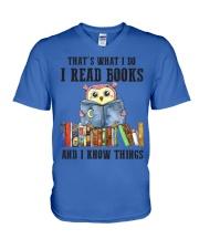 Read Books Know Things V-Neck T-Shirt thumbnail