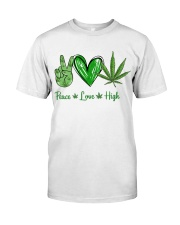 Peace Love High Classic T-Shirt front