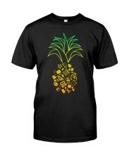 TEACHER PINEAPPLE Classic T-Shirt front