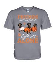 Friend MS V-Neck T-Shirt thumbnail