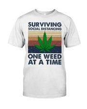 Weed Surviving  Classic T-Shirt front