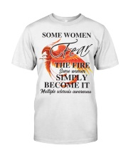 MS Fear the Fire Classic T-Shirt front