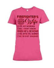 Firefighter Premium Fit Ladies Tee thumbnail