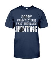 Hunting thinking Classic T-Shirt front