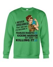 Diabetes Never Dreamed Crewneck Sweatshirt thumbnail