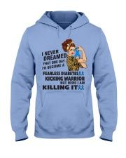 Diabetes Never Dreamed Hooded Sweatshirt thumbnail