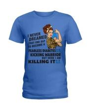 Diabetes Never Dreamed Ladies T-Shirt thumbnail
