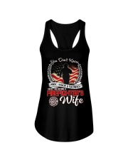 Firefighter's Wife Ladies Flowy Tank thumbnail