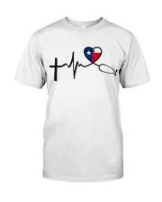 Faith Hope Love Texas Nurse Classic T-Shirt front