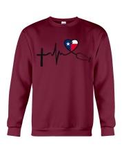 Faith Hope Love Texas Nurse Crewneck Sweatshirt thumbnail