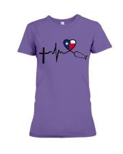 Faith Hope Love Texas Nurse Premium Fit Ladies Tee thumbnail