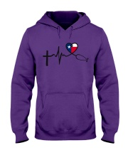 Faith Hope Love Texas Nurse Hooded Sweatshirt thumbnail