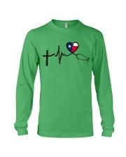 Faith Hope Love Texas Nurse Long Sleeve Tee thumbnail