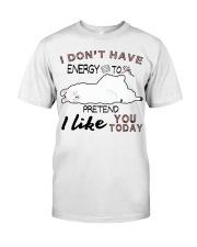 Llama Classic T-Shirt front