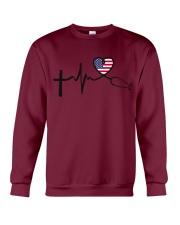 Faith Hope Love Nurse USa Crewneck Sweatshirt thumbnail