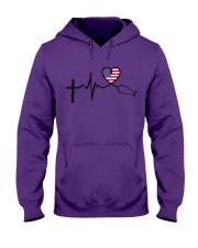 Faith Hope Love Nurse USa Hooded Sweatshirt thumbnail