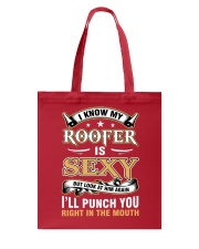 ROOFER WIFE Tote Bag thumbnail