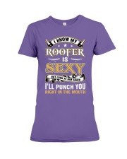 ROOFER WIFE Premium Fit Ladies Tee thumbnail