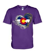 Colorado  V-Neck T-Shirt thumbnail
