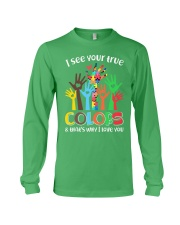Autism that's why i love you Long Sleeve Tee thumbnail