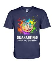 Art Teacher V-Neck T-Shirt thumbnail